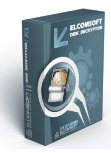Elcomsoft Disk Decryptor Package